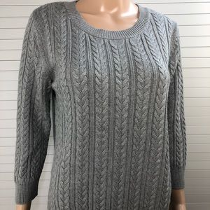 H&M Women's Cable-knit Jumper Sweater NWT